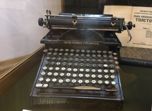 Leo Tolstoy's Typewriter